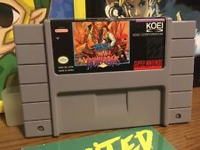 Uncharted Waters: New Horizons (Super Nintendo Entertainment System, 1994) SNES