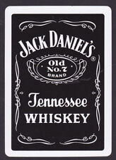 Jack Daniel's No7 Tennessee Whiskey Single Playing Cards
