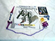 Transformers Takara Tomy Masterpiece MP-5 MP5 Megatron Accessories Set