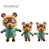 New Animal Crossing Tom Nook Raccoon Plush Toy Soft Stuffed Doll Anime Game Gift