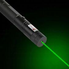 DE!Green Light 303Laserpointer Einstellbarer Fokus Wiederaufladbares Strahllicht