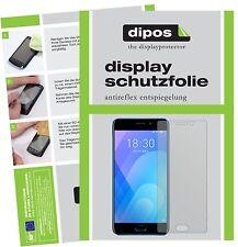 6x Meizu M6 Note Schutzfolie matt Displayschutzfolie Folie Display Schutz dipos