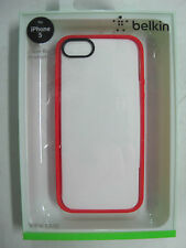 FREE! Just Pay Freight BELKIN Ruby/Clear Case iPhone 5 & iPhone 5s F8W153qeC05