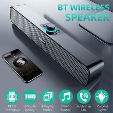 Bluetooth 5.0 Soundbar Subwoofer TV Sound System Heimkino Lautsprecher Soundbox