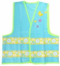 Apollo Childrens Girls Cycling/Walking Hi Viz Waistcoat Safety Vest For Ages 5-8