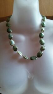 24 Fully closed shell beads necklace  贝  项链