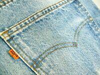 HOT VINTAGE 80's Men's USA LEVI'S 517 BOOTCUT ORANGE TAB 532 Denim Jeans 32 x 29