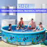 186cm Inflatable Water Swimming Pool Summer Kids Adult Bathtub Tube Edge Pond *
