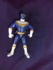 VINTAGE 1996 Power Rangers ZEO * BLUE RANGER ZEO Figure  original #1
