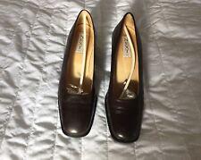New Next Brown Ladies Court Shoe Size 5