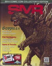SMR Sports Market Update 2014 SDCC San Diego Comic Con edition Superman Godzilla