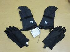 A+ Outdoor Research Military Black Pro Mod Gloves with Liner XL USGI
