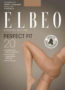 Elbeo Perfect Fit 20 Tights Transparent And Matt 20 Den Slides Not