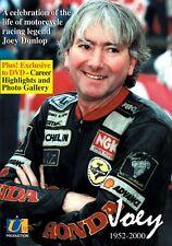 Joey Dunlop - Joey 1952 - 2000 (New DVD) Motorcycle sport Motorcycle Legend