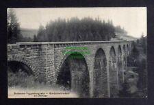 132633 AK Herisau 1910 Eisenbahnbrücke Bodensee Toggenburgbahn Kirchtobelviadukt