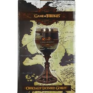Officially Licensed HBO Game of Thrones THE SEVEN KINGDOMS Wine Goblet Cup