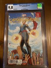 Mighty Captain Marvel #1 (CGC 9.8) Torque Cover! 3/17 Ms. Marvel