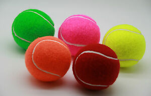 Price's Coloured Tennis Balls: 4 High Performance Tennis Balls