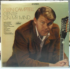 GLEN CAMPBELL- GENTLE ON MY MIND - LP NM/VG++ - CAPITOL ST-2809 -1967 1st Press