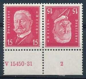 D.Reich Zusammendruck K 14 HAN 2 ungebraucht/* (69832)