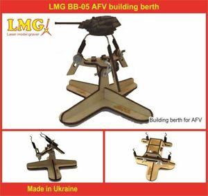 LMG BB-05 - 1/72-1/35 AFV building berth for plastic model kit, Laser Graving