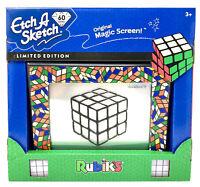 60th ANNIVERSARY Etch A Sketch LIMITED EDITION Rubik's Cube Edition MAGIC SCREEN