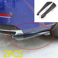 2pcs 490MM Car Rear Bumpers Spoiler Rear Lip Diffuser Protector Anti-scratch