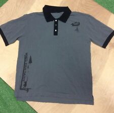 WYD Who's Your Daddy Polo Shirt Size L Color Grey/Black