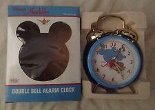 1992 Genie Aladdin Double Bell Wind Up Alarm Clock w Moving Magic Lantern MIB