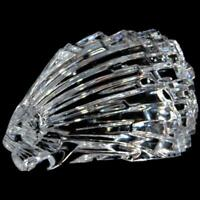 """Baccarat Clear Crystal, France Porcupine Paperweight or Figurine, 3"""" Tall x 5"""""""
