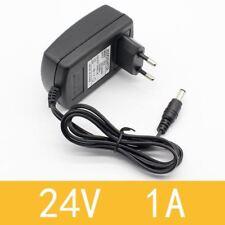 1PCS EU Plug AC 110V 220V Converter DC 24V 1A Server Power Supply Adapter