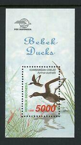 Indonesia Scott #1805 MNH S/S Ducks and Geese Birds FAUNA CV$3+