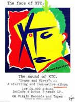 """1979  XTC  """"DRUMS AND WIRES""""  Album  Release Reproduction Promo Print Ad"""