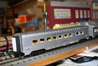 MTH O gauge Rail King 2 Car 60' Streamlined Sleeper/Diner set NIB #30-67415 PRR