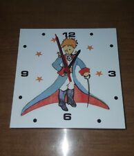 "The Little Prince - Le Petit Prince El principito Wood wall clock 8"" x 8"" x 1"""