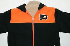 Philadelphia Flyers Reebok Center Ice fleece Full Zip Hooded Sweatshirt Youth L
