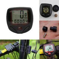 Impermeable LCD Cuentakilómetros Velocímetro Ordenador Odómetro Bicicleta Bici