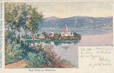 Kunstkarte aus Maria Wörth am Wörthersee, Kärnten    (D22)