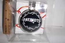 New England Patriots NFL team CHRISTMAS Tree Ornament 2 5/8