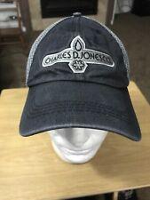 Charles D Jones Heating Cooling Equipment Mesh SnapBack Trucker Hat Baseball Cap