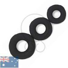 3 Pack - Thick Soft XL Cock Silicone Rings Ball Stretcher   Prolong Delay ED