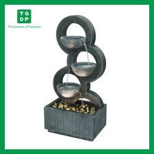 MZ13663AA Triple Circles Indoor Outdoor Garden Water Feature Water Fountain