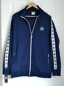 Men's blue Admiral jacket retro tracksuit top style size large
