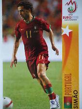 Panini 481 Simao Portugal UEFA Euro 2008 Austria - Switzerland