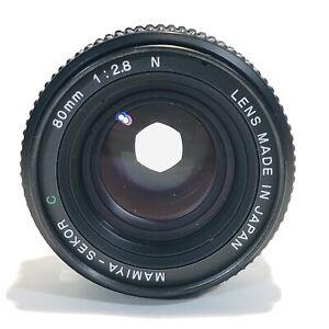 Mamiya M645 Sekor C 80mm f/2.8 Porträtobjektiv - sehr guter Zustand - mit Hülle