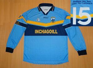 *GAA  Salthill Knocknacarra #15 MATCH WORN 2005 SHIRT Irish O'NEILLS