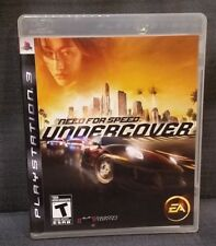 Need for Speed: Undercover (Sony PlayStation 3, 2008) PS3 Video Game