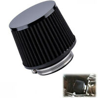 3 Inch Black Aluminum Air Filter Fit For Motorcycle Scooter Moped Universal
