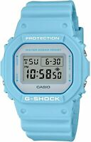 Casio G-SHOCK DW5600SC-2 Military Light Blue Resin Strap Digital Men's Watch