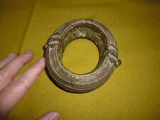 ancien bracelet anneau de cheville bronze africain cote d'ivoire Akan Baoulé ?